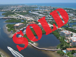 sold-Jupiter yacht aerial